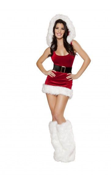 ROMA NORTH POLE BABE PARTY COSTUME  #Roma #CompleteOutfit #Party