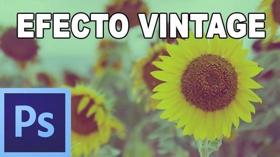 Efecto vintage en dos pasos - Tutorial Photoshop en Español por @prismat...