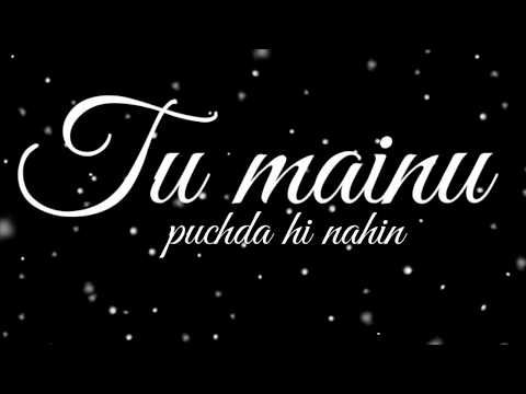 Puchda Hi Nahin Song Neha Kakkar Song Whatsapp Status Blackscreen Status Song Lyrics Youtube In 2020 Song Lyrics Lyrics Songs