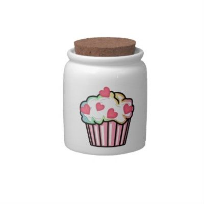Cupcake Love Candy Dishes