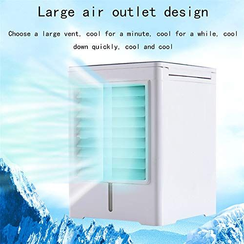 Wsn Cold Air Conditioner Portable Mini Evaporative Air Cooler Atomizing Swamp Small Office Humidifier Bedside Ta Air Cooler Evaporative Air Cooler Small Office