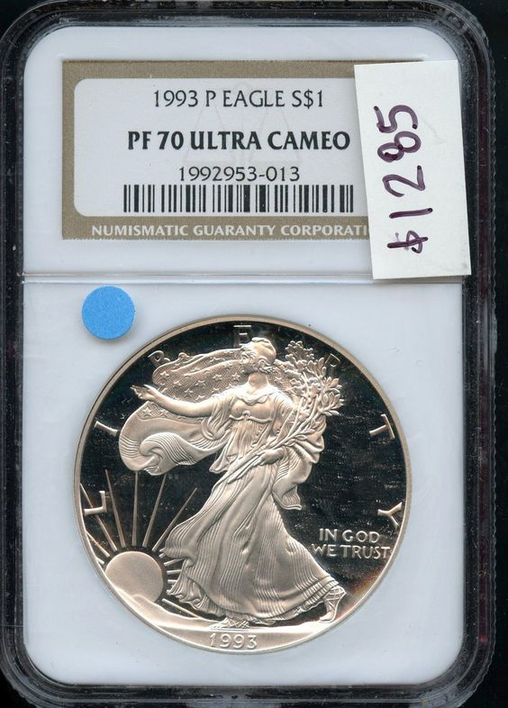 1993-P NGC PF70 UC Proof $1 Silver U.S. American Eagle 1oz .999 Pure AN7755 J https://t.co/n26dVXBYx6 https://t.co/xz4uWfGrbY