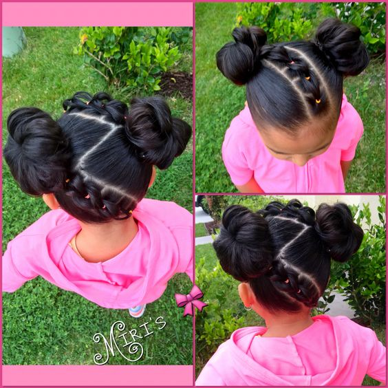 Cute Hairstyles For School For 12 Year Olds : Hair style for little girls my creation miris things