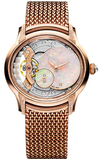 Audemars Piguet Millenary Frosted Gold Opal Dial Ref. 77244OR.GG.1272OR.01
