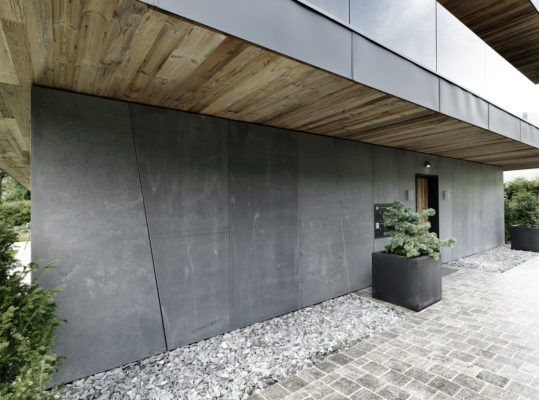 Concrete Skin Vintage Materialdistrict Facade Architecture Facade Architecture