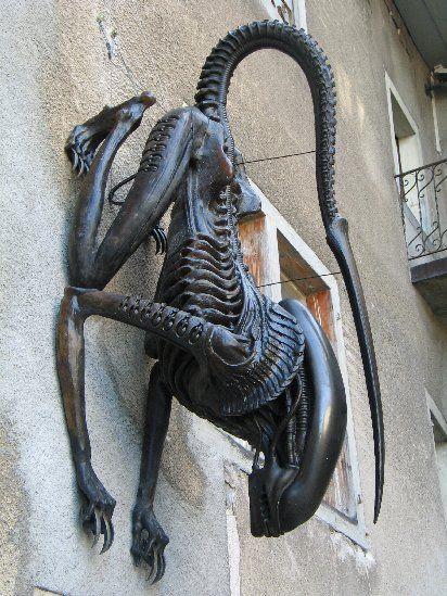 H.R. Giger... diseñador de Alien (entre otras cosas)