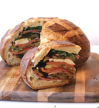 My Rustic Sandwiches - Great Recipes to Savor Artisan Bread
