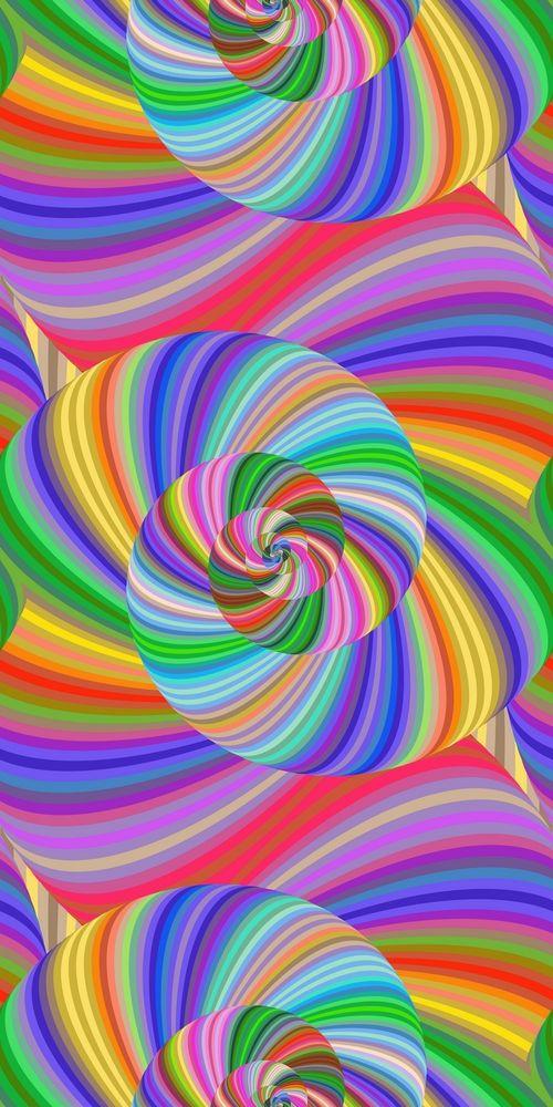 14 Seamless Fractal Spiral Pattern Backgrounds 9497 Backgrounds Design Bundles Fractal Patterns Spiral Pattern Background Patterns