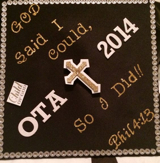 Grad cap decoration occupational therapy assistant