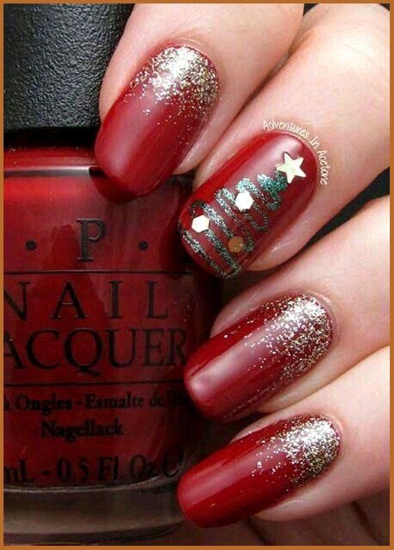 38++ Christmas nail designs 2021 ideas information