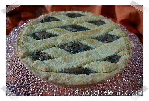 Crostata di Castagne e Cioccolato fragolaelettrica.com Le ricette di Ennio Zaccariello #Ricetta