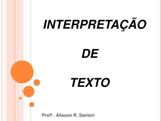 Aula Ideal - texto denotação e conotação - semi extensivo by Alisson Rodrigues Santori via slideshare