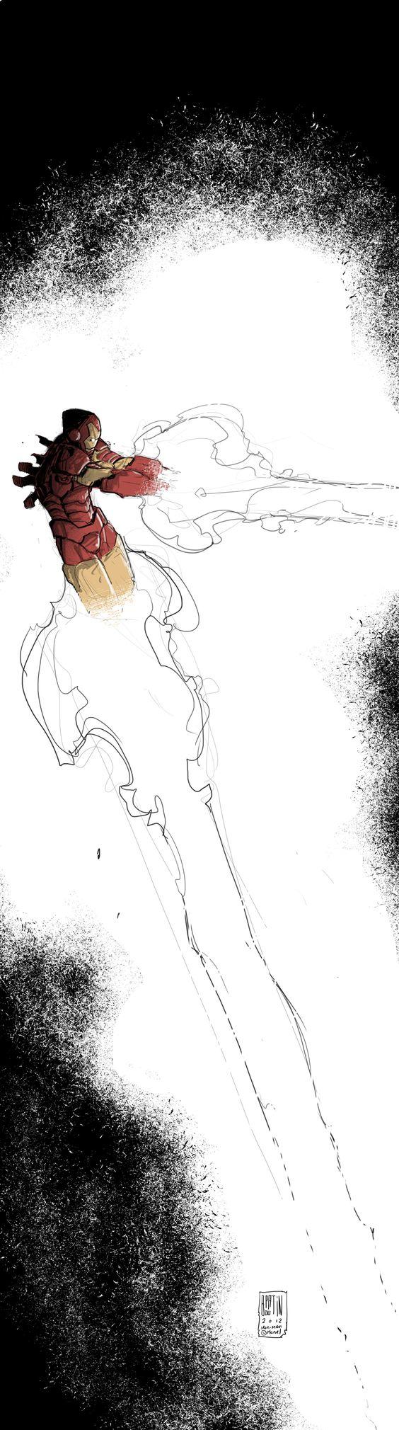 Iron Man by *PatBoutin on deviantART