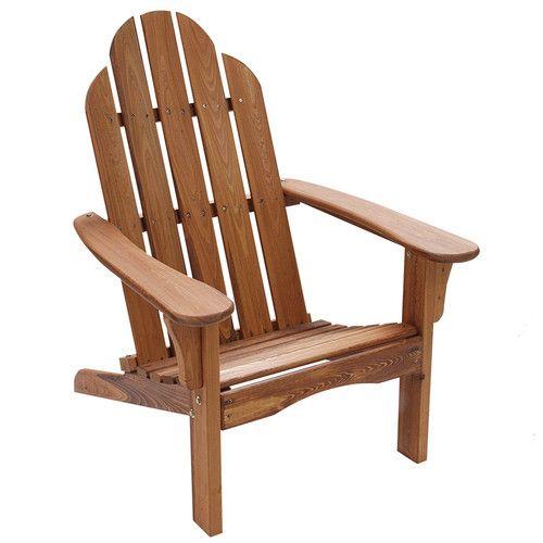 Found it at Wayfair - Wood Adirondack Chair