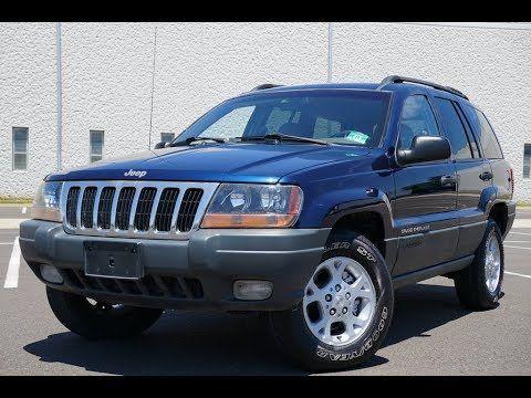 2000 Jeep Grand Cherokee Laredo 4wd 4 0l Blue Jeep Grand