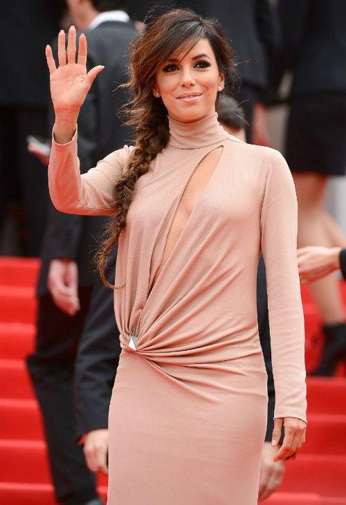 5/19 #エヴァ・ロンゴリア Cannes Film Festival 2014|海外セレブ最新画像・私服ファッション・着用ブランドチェック DailyCelebrityDiary*