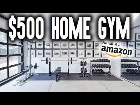 Amazon Offers The Largest Marketplace In The World Which In Turn Means There Are Many Products To Help Build A Ho In 2020 Building A Home Gym Home Gym Home Gym Garage