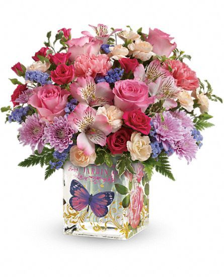Teleflora's Enchanted Garden Bouquet Flowers: