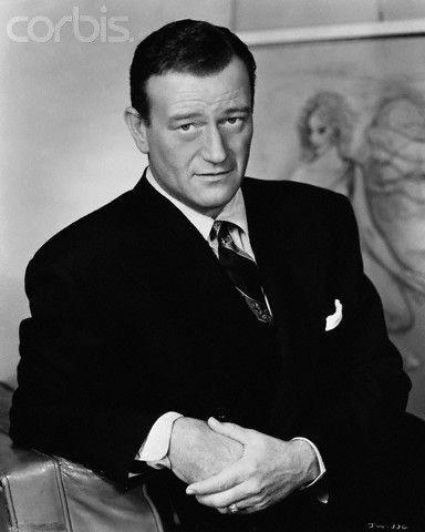 John Wayne, what else can you say. He's the Duke!