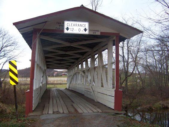 Turner's Covered Bridge  Bedford Co, Pa