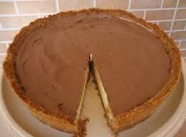 Compartilhando...: Torta de Leite Condensado e Chocolate