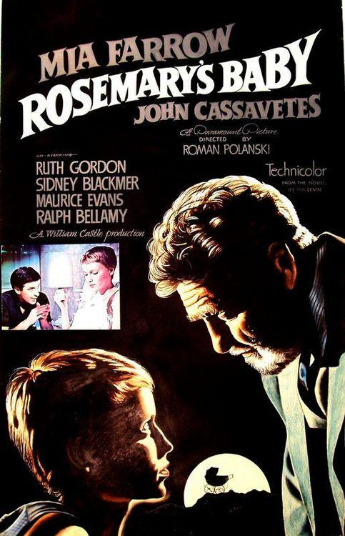 JOHN J. LOMASNEY (Irish, 1899-1989)     Rosemary's Baby, 1968