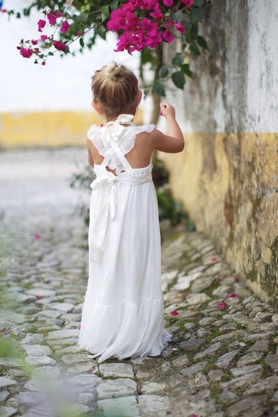 Sooo cute! #flowergirl// Use the code FSPINTEREST to Get 5% off on shoes and foot accessories at www.foreversoles.com