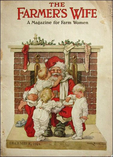 Vintage Christmas Magazine ~ The Farmer's Wife © 1924