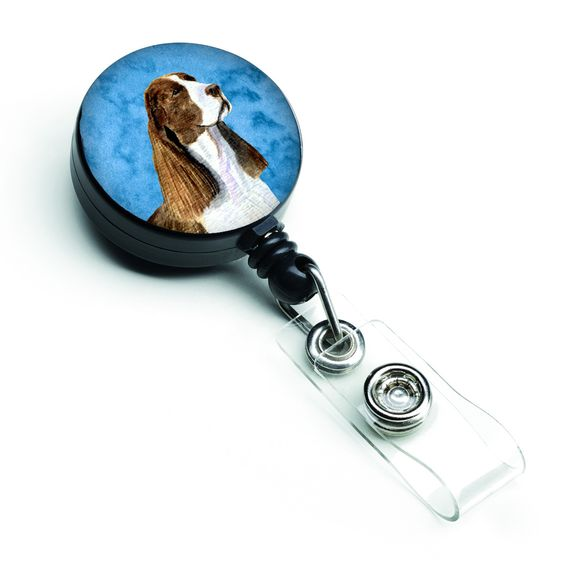 Springer Spaniel Retractable Badge Reel or ID Holder with Clip SS4789