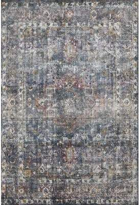 Williston Forge Breeden Geometric Handwoven Navy Off White Area Rug Rugs Area Rugs Loloi