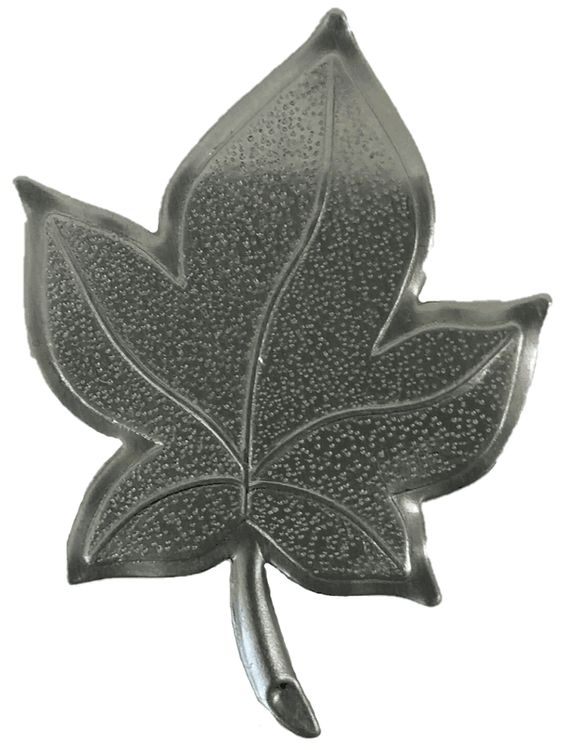 Approx Size 1 3 8 W X 1 7 8 H Metal Stamping L191 Sycamore Leaf Approx 020 Steel Thickness 25 Gauge Metal 1 3 Thickne Metal Stamping Sycamore Leaf Metal