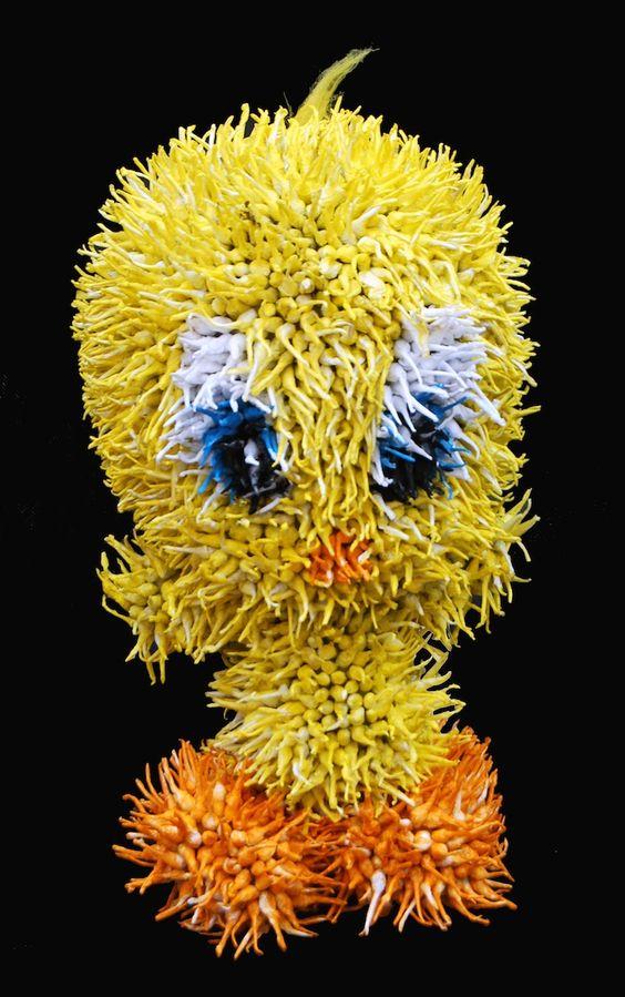 Stuffed Animals Shockingly Made of Firecrackers by Felipe Barbosa