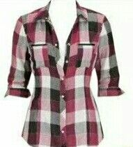 Love this plaid shirt