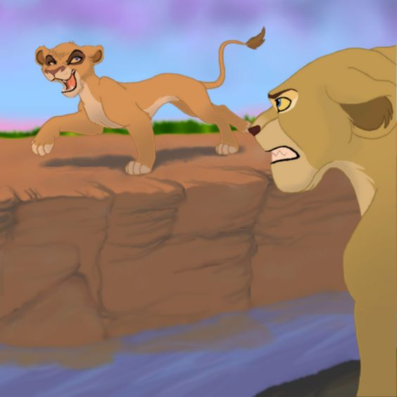 "Vitani: ""How's Your Daughter, Nala?"" Nala: ""Who Are You"