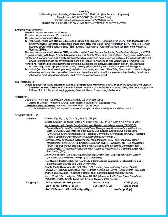 awesome Incredible Formula to Make Interesting Business - business intelligence resume