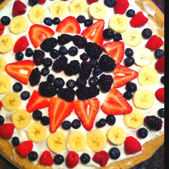 pillsbury fruit pizza healthy fruit scones