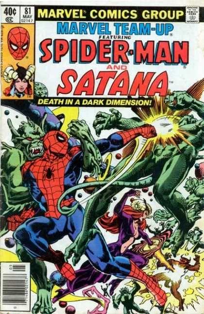 Spider-man - Battle - Satana - Punch - Red Eyes - Steve Leialoha