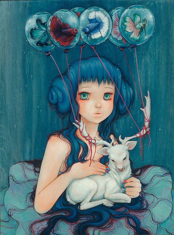 Artist: Camilla d'Errico #pop #contemporary #painting