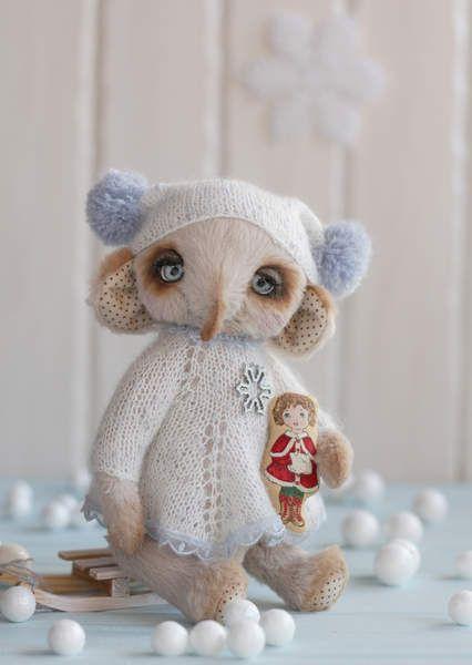 Winter elly Glasha By Ina Smirnova - Bear Pile