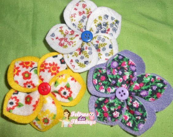 Flores p/ Cabelo
