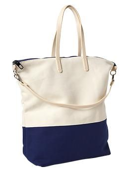 Colorblock tote | Gap $45