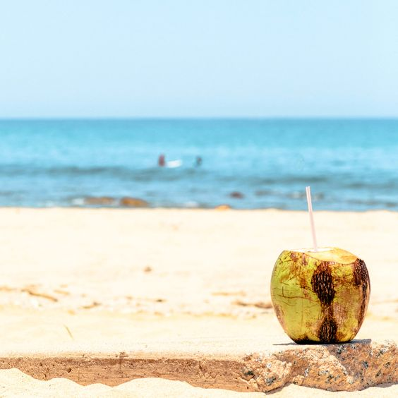 Cabo San Lucas Beach With Coconut[OC][2048X2048]. wallpaper/ background for iPad mini/ air/ 2 / pro/ laptop @dquocbuu