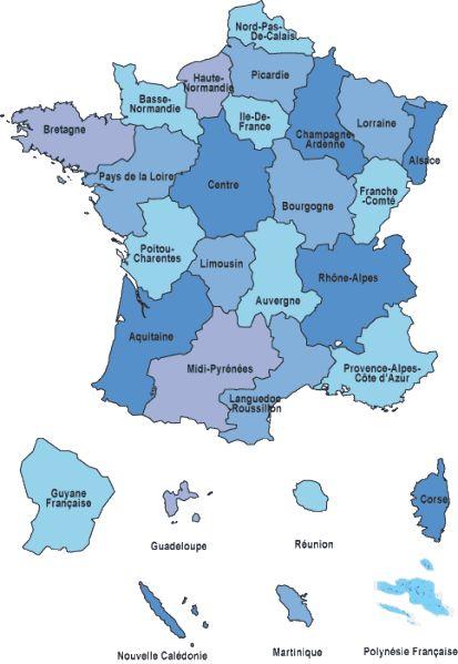La France des régions + quizz