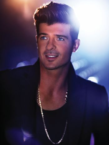 Robin Thicke .. would it be weird to date someone with the same name as you .. I'd love to find out! haha jk =]