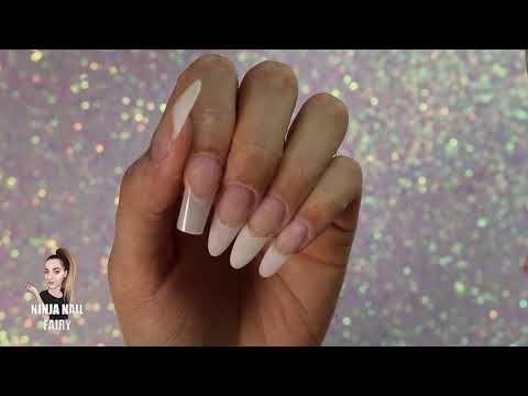 Polygel Overlay On Natural Nails Arielle Nails Magazine Natural Looking Nails Natural Looking Acrylic Nails Natural Nails