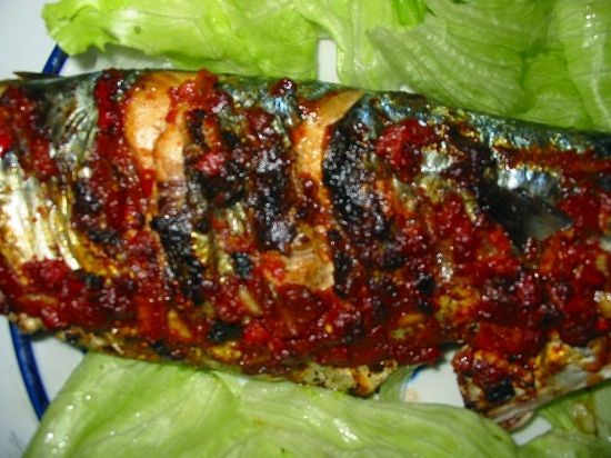 Resep Ikan Mas Bakar Pedas Resep Ikan Mas Makanan Cara Memasak