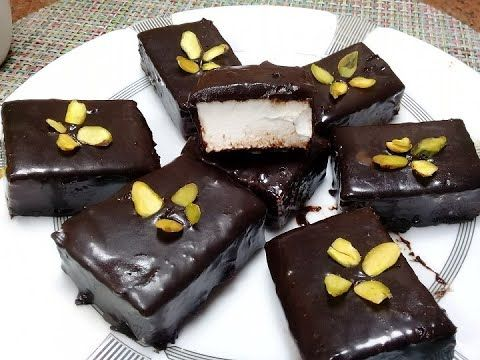 ب3 مكونات بس عملت اروع واجمل حلوي بيعشقها الكبار والصغار طعمها تحفة مش بتاخد وقت حلوي القشطة Youtube Food Desserts Brownie