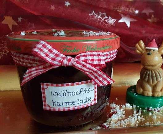 Rezept Landhaus Team Weihnachtsmarmelade von landhaus-team - Rezept der Kategorie Saucen/Dips/Brotaufstriche