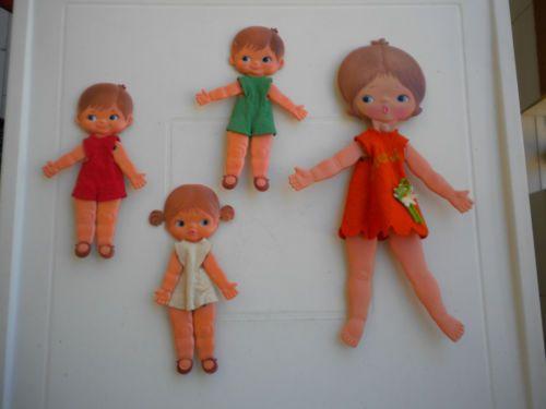 4 BAMBOLE METTI SEBINO | eBay