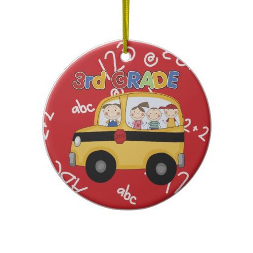 math worksheet : third grade teacher christmas ornament click on photo to purchase  : Christmas Gift Ideas For First Grade Teachers